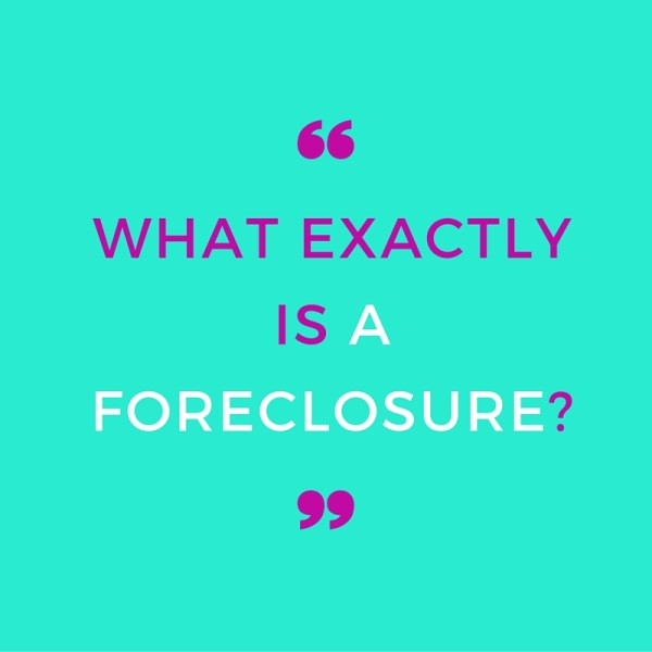 what is a foreclosure remax on main real estate