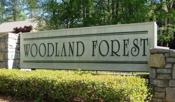 Sandy Springs Community Of Woodland Forest