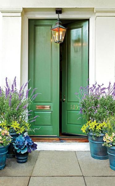 spring home entrance