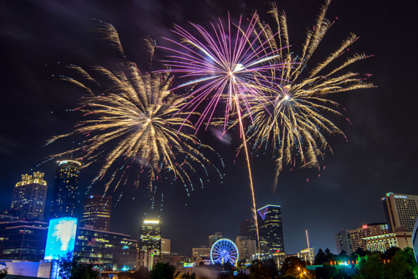 centennial olympic park july 4th