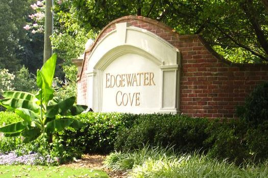 Edgewater Cove Roswell Subdivision