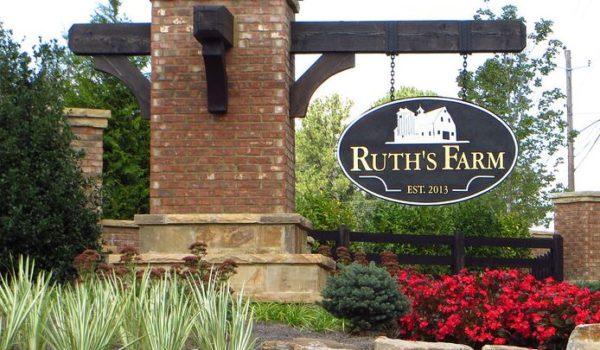 Ruths Farms Alpharetta Subdivision