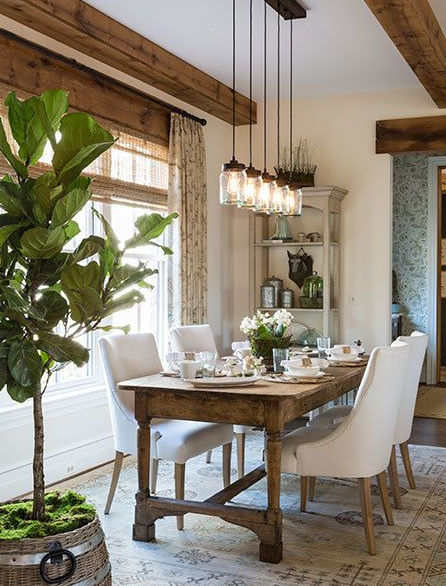 pendant dining room