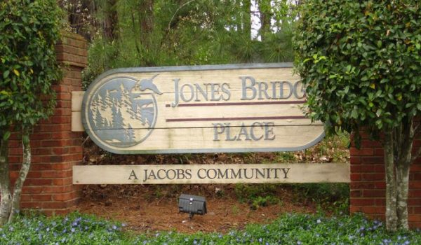 Jones Bridge Place Johns Creek Subdivision