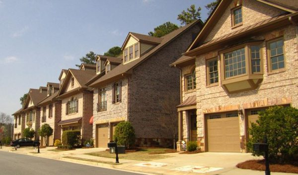 Townhomes In Johns Creek Eaton Manor Subdivision