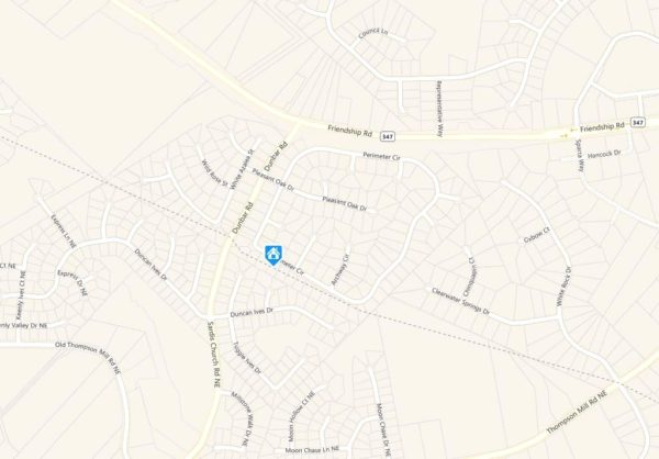 Buford Georgia Map Reflections Neighborhood Location